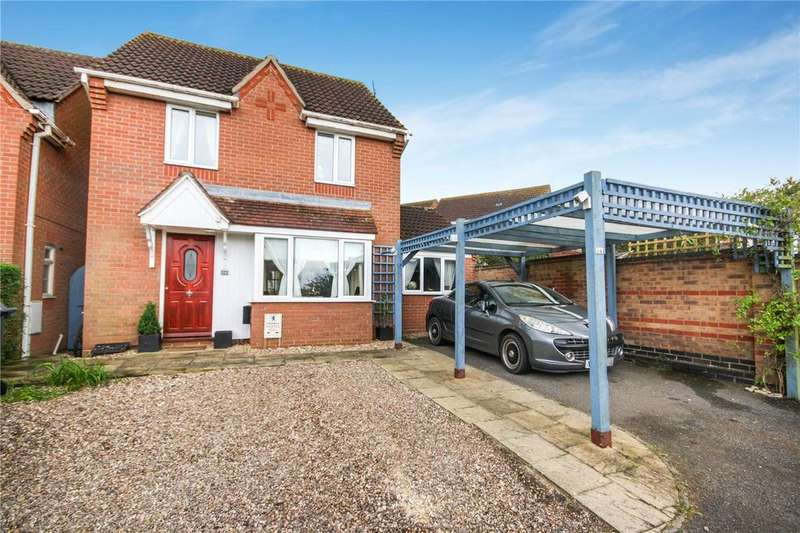 3 Bedrooms Detached House for sale in Finch Drive, Sleaford, Lincolnshire, NG34