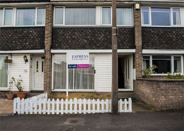 3 Bedrooms Terraced House for sale in Vicarage Close, Rotherham, South Yorkshire