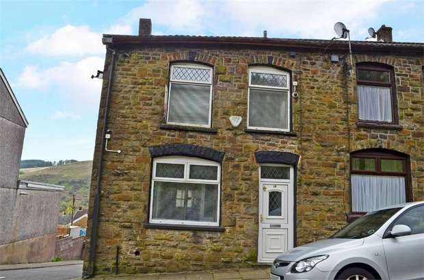 2 Bedrooms End Of Terrace House for sale in Morton Terrace, Tonypandy, Mid Glamorgan