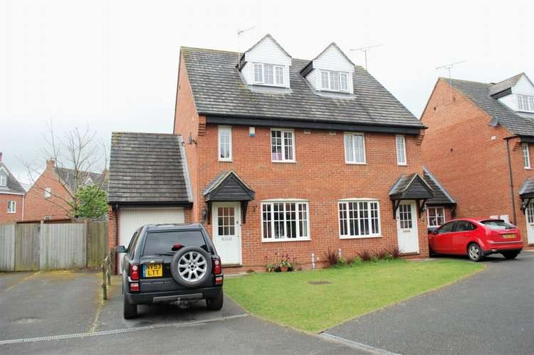 3 Bedrooms Semi Detached House for sale in Minerva Mews Alcester