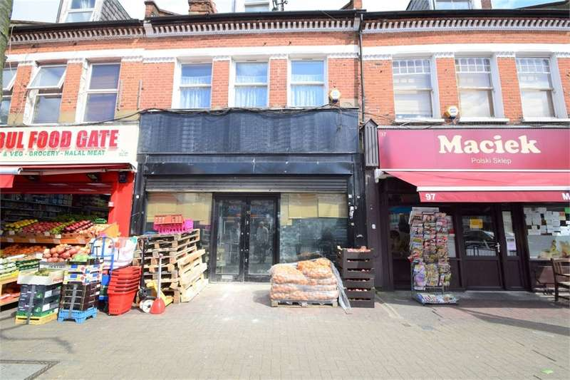 2 Bedrooms Commercial Property for sale in Mitcham Road, Tooting