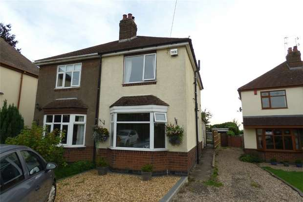 3 Bedrooms Semi Detached House for sale in Bedworth Road, Bulkington, Warwickshire