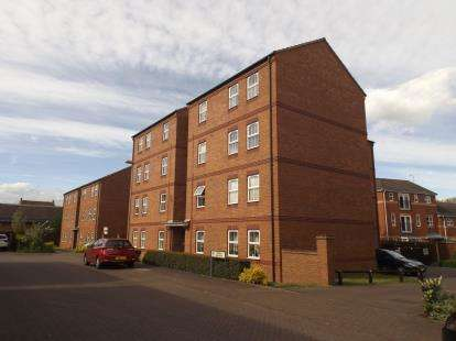 2 Bedrooms Flat for sale in Bodill Gardens, Hucknall, Nottingham, Nottinghamshire