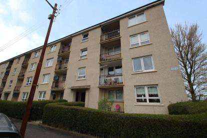 2 Bedrooms Flat for sale in Croy Place, Glasgow