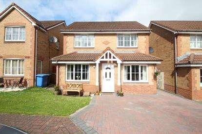 3 Bedrooms Detached House for sale in Badger Grove, Broxburn