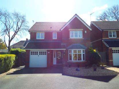 4 Bedrooms Detached House for sale in Acacia Court, Llay, Wrexham, Wrecsam, LL12