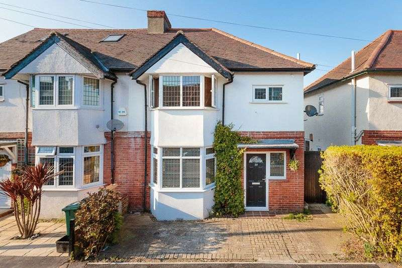 3 Bedrooms Semi Detached House for sale in Diceland Road, Banstead