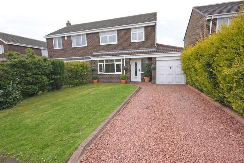 3 Bedrooms Semi Detached House for sale in Bradley Close, ouston, Chester-le-Street DH2 1TJ