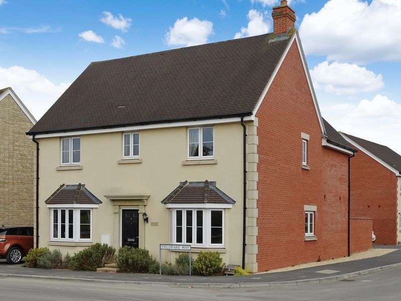 4 Bedrooms Detached House for sale in Fieldfare Way, Melksham