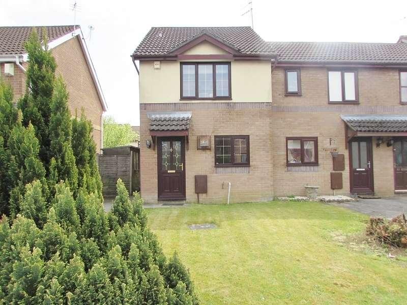 2 Bedrooms End Of Terrace House for sale in Heol Maes Yr Haf , Pencoed, Bridgend. CF35 5PJ