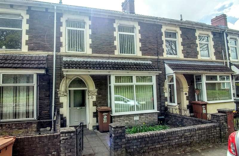 3 Bedrooms Terraced House for sale in Thomas Street, Abertridwr, Caerphilly
