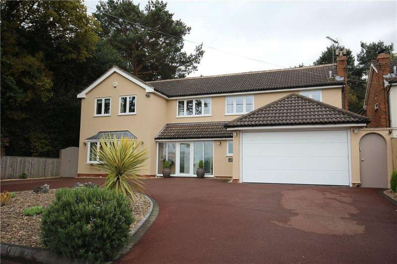 5 Bedrooms Detached House for sale in Bickenhill Lane, Catherine-de-Barnes, Solihull, West Midlands, B92