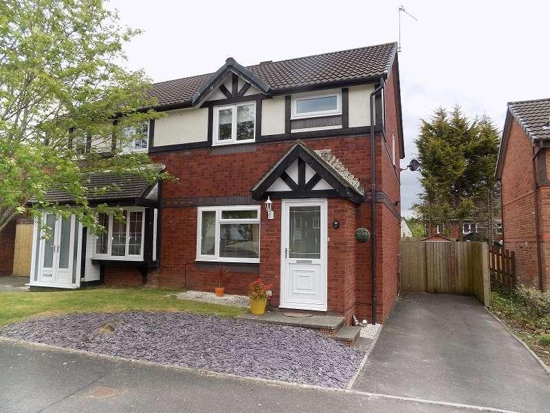 3 Bedrooms Semi Detached House for sale in Rushfield Gardens, Bridgend. CF31 1DF