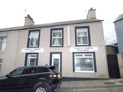2 Bedrooms End Of Terrace House for sale in St. Cybi Street, Holyhead, Sir Ynys Mon, LL65