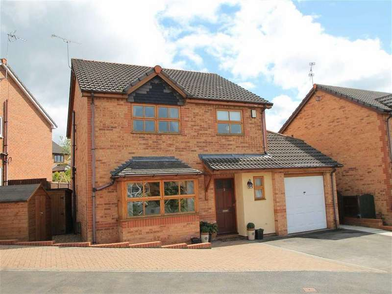3 Bedrooms Detached House for sale in Newmarket Rise, Wrexham