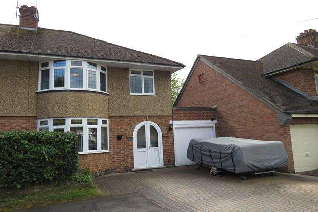 3 Bedrooms Semi Detached House for sale in Stone Way, Duston, Northampton, NN5