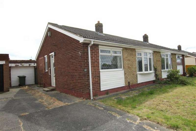 1 Bedroom Semi Detached Bungalow for sale in Seymour Grove, Stockton-on-tees, Cleveland