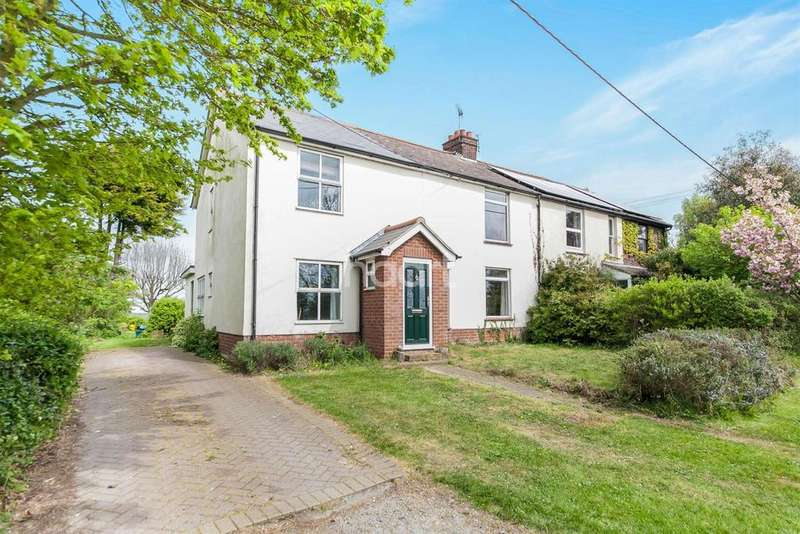 4 Bedrooms Semi Detached House for sale in Church Road, Wrabness, Manningtree, Essex