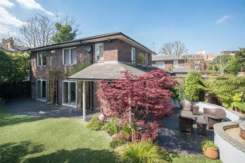 4 Bedrooms Detached House for sale in Hillside Close, St John's Wood, London, NW8