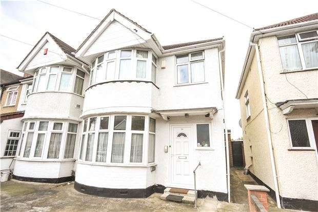 3 Bedrooms End Of Terrace House for sale in Girton Avenue, KINGSBURY, NW9 9SX