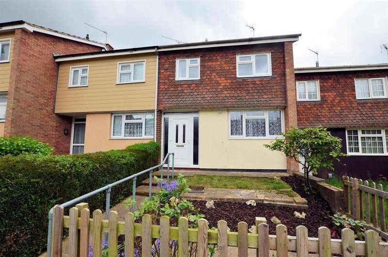 3 Bedrooms Terraced House for sale in Eskin Close, Tilehurst, Reading