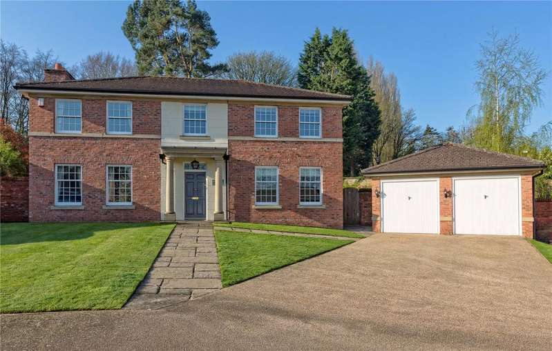 4 Bedrooms Detached House for sale in Longford Park, Longford, Newport, Shropshire, TF10