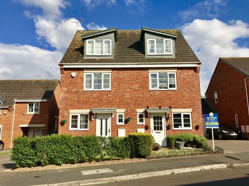 3 Bedrooms Semi Detached House for sale in Harter Row, Worcester, Worcester, WR4