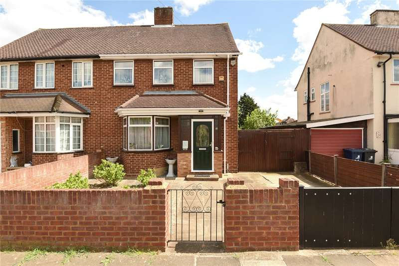 3 Bedrooms Semi Detached House for sale in Edward Road, Northolt, Middlesex, UB5