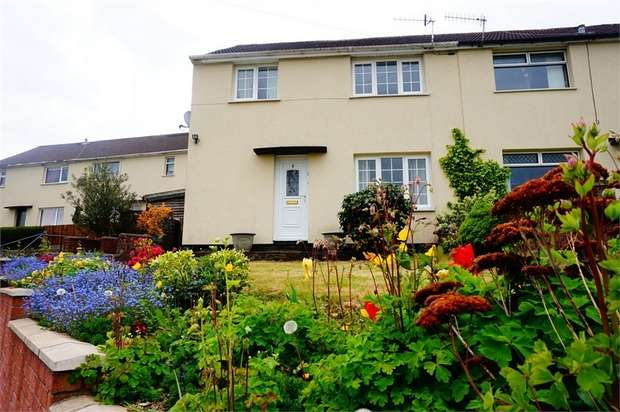 3 Bedrooms Semi Detached House for sale in Heol Gethin, Cefn Hengoed, HENGOED, Caerphilly