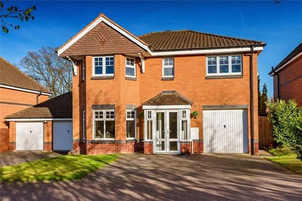 4 Bedrooms Detached House for sale in 23 Eider Drive, Apley, Telford, Shropshire