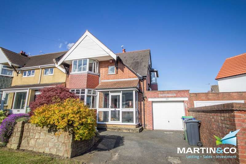 3 Bedrooms Semi Detached House for sale in Harborne Road, Oldbury, B68