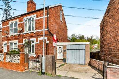 3 Bedrooms Semi Detached House for sale in Brinsworth Road, Catcliffe, Rotherham, South Yorkshire