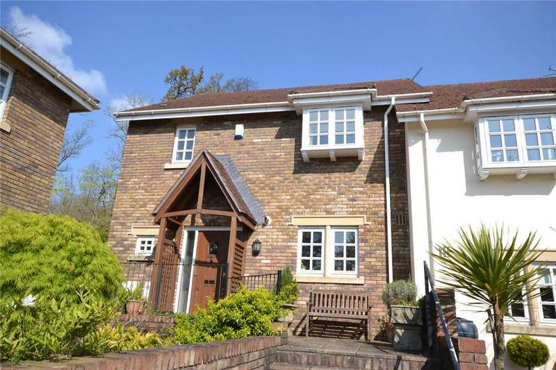 2 Bedrooms Terraced House for sale in Cefn Mably Park, Michaelston-y-Fedw, Cardiff, CF3