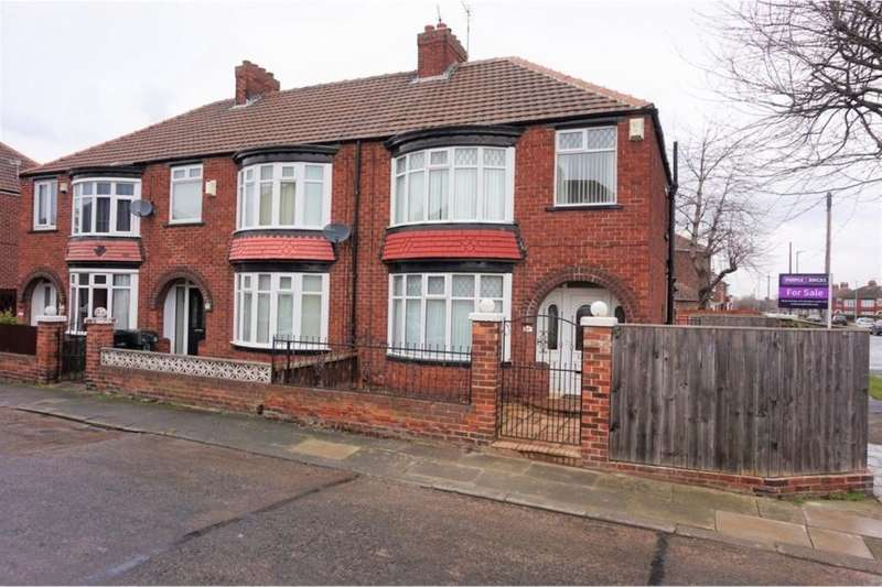 3 Bedrooms Semi Detached House for sale in Lichfield Road, Middlesbrough, TS5
