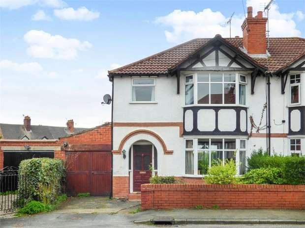 3 Bedrooms Semi Detached House for sale in Sheldon Avenue, Vicars Cross, Chester, Cheshire