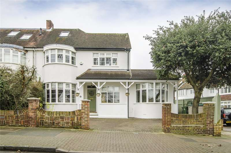 5 Bedrooms Semi Detached House for sale in Viewfield Road, London, SW18