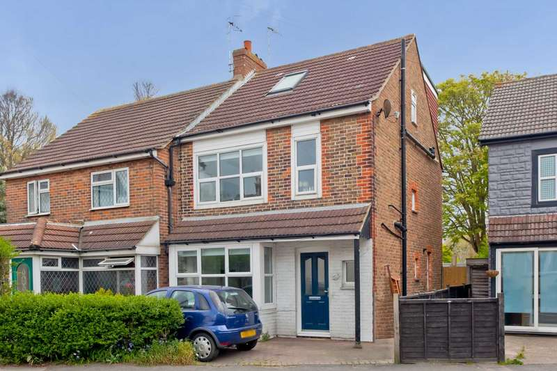 4 Bedrooms Semi Detached House for sale in 51 Trafalgar Road, Portslade, BN41 1GT