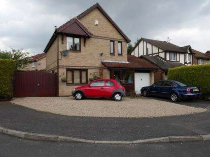 3 Bedrooms Detached House for sale in Trafford Gardens, Aspley, Nottingham, Nottinghamshire