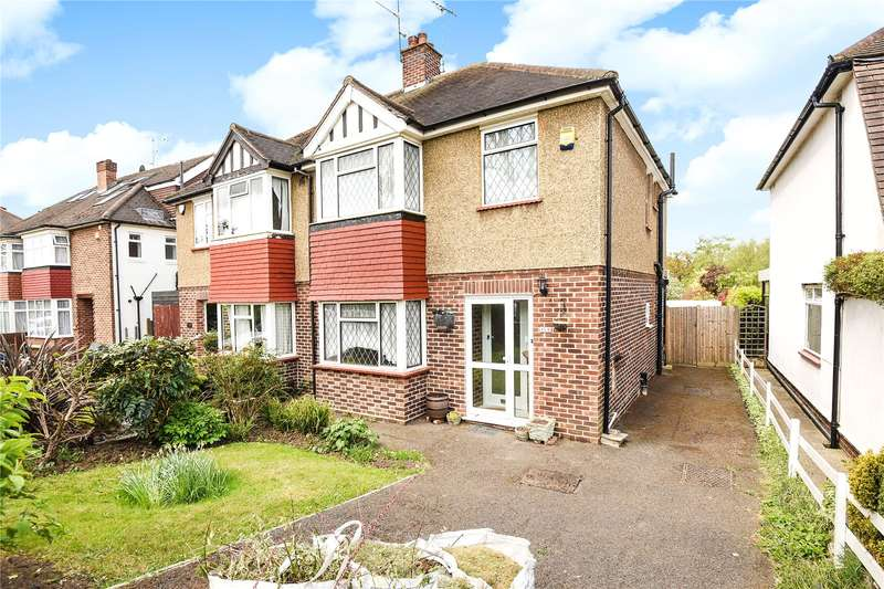 3 Bedrooms Semi Detached House for sale in Hoylake Crescent, Ickenham, Middlesex, UB10