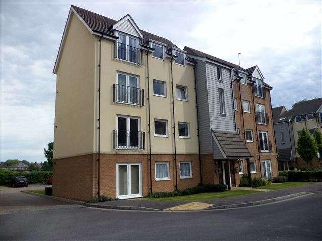 2 Bedrooms Apartment Flat for sale in Regius House, Tudor Crescent, Cosham, Portsmouth, Hampshire, PO6 2DA