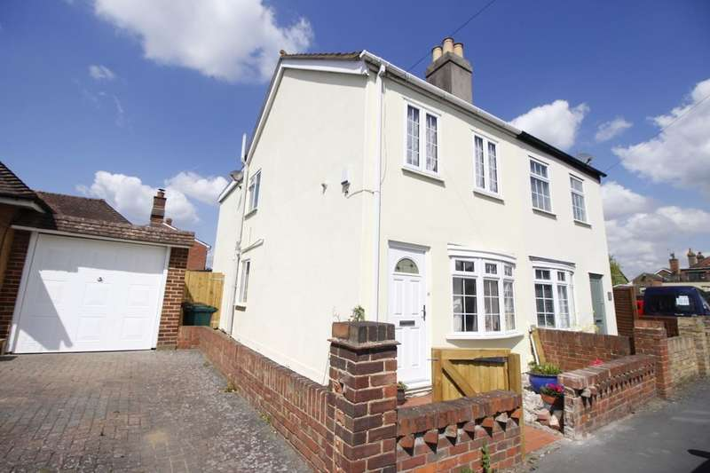 2 Bedrooms Semi Detached House for sale in Sheep Walk, Shepperton, TW17