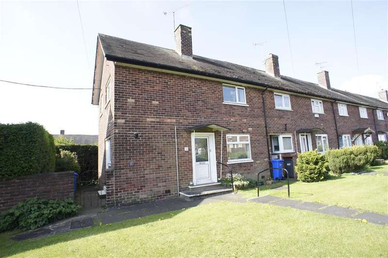 3 Bedrooms End Of Terrace House for sale in Lupton Road, Lowedges, Sheffield S8 7NF
