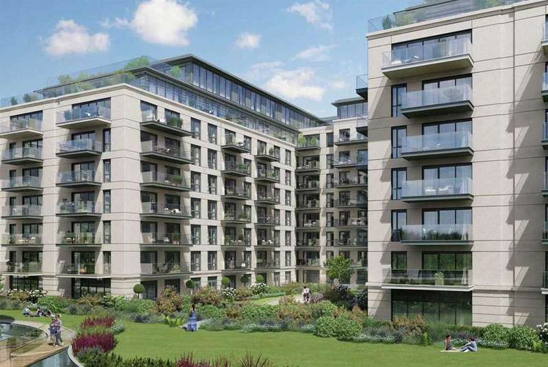 3 Bedrooms Apartment Flat for sale in Faulkner House, Fulham Reach, London