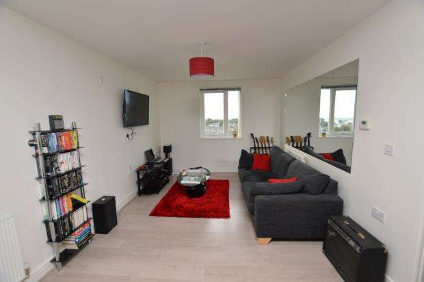 1 Bedroom Flat for sale in Vyvyan House, Kerrier Way, Camborne, Cornwall