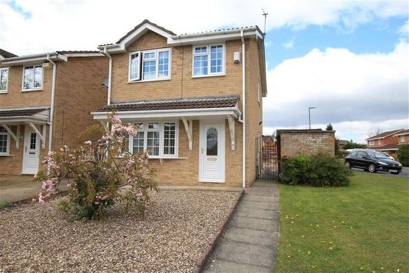 3 Bedrooms Detached House for sale in Kirkham Close, Newton Aycliffe, County Durham