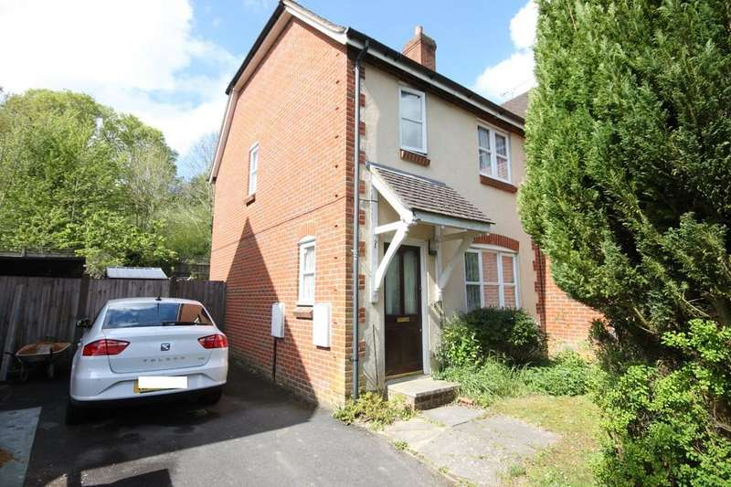 2 Bedrooms Semi Detached House for sale in OLDFIELD ROAD, BISHOPDOWN, SALISBURY, WILTSHIRE, SP1 3GQ