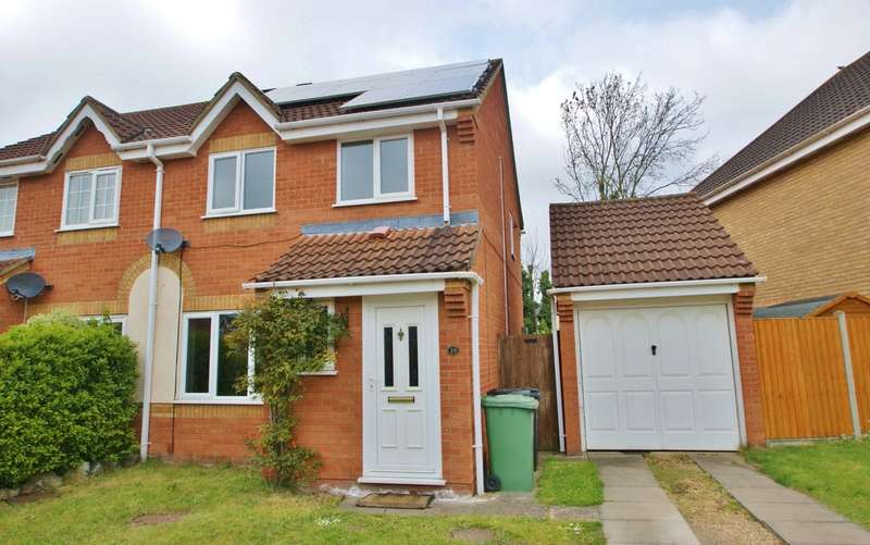 3 Bedrooms Semi Detached House for sale in Kiln Road, Horsford, Norwich