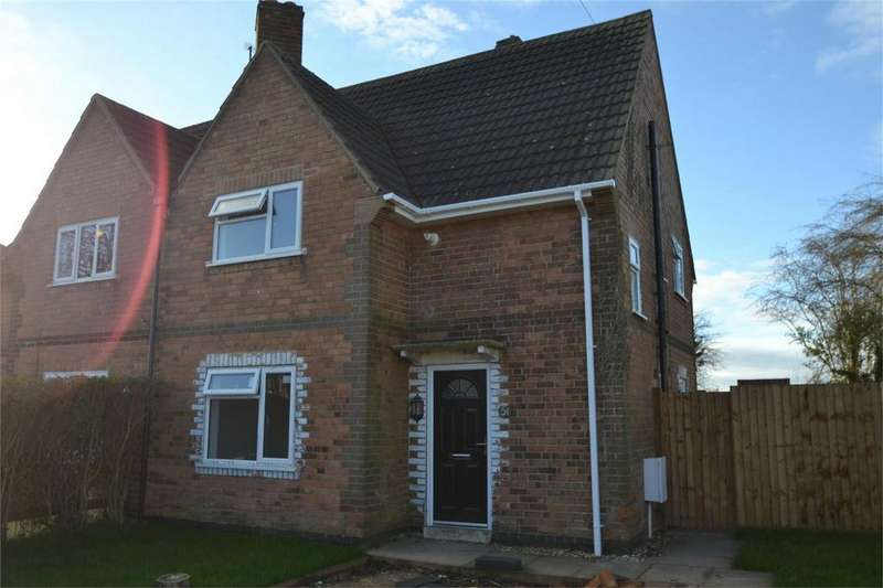 3 Bedrooms Semi Detached House for rent in Kelvin Grove, Corby, Northamptonshire