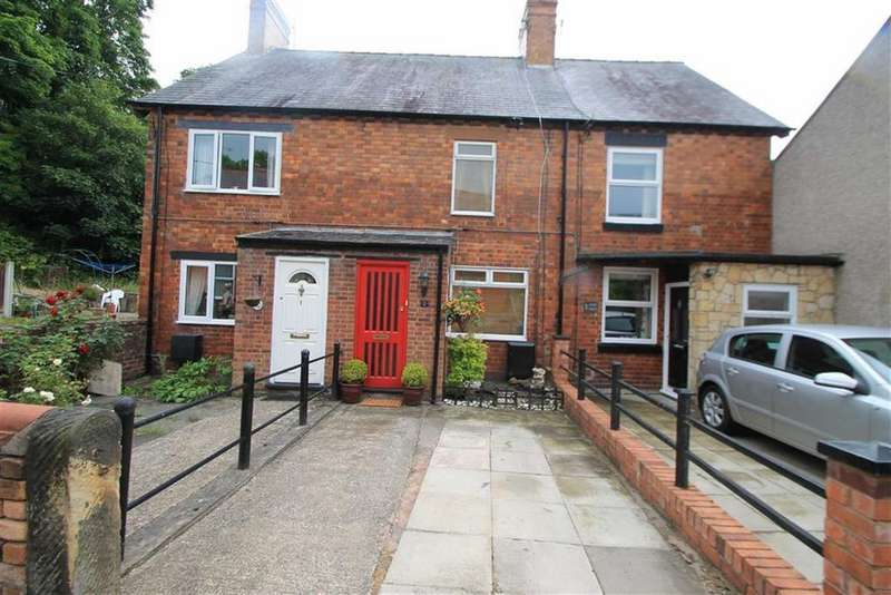 2 Bedrooms Terraced House for sale in Acre View, Acrefair, Wrexham