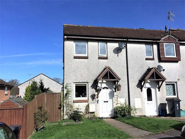 2 Bedrooms End Of Terrace House for sale in Spindlewood Close, Honiton